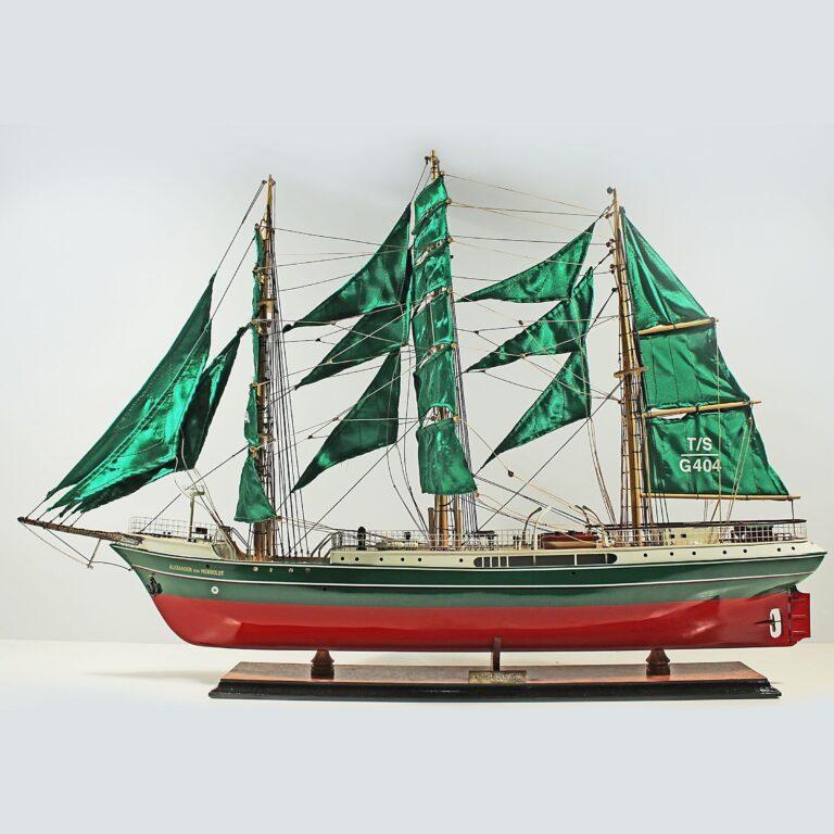 Alexander von Humboldt Schiffsmodell