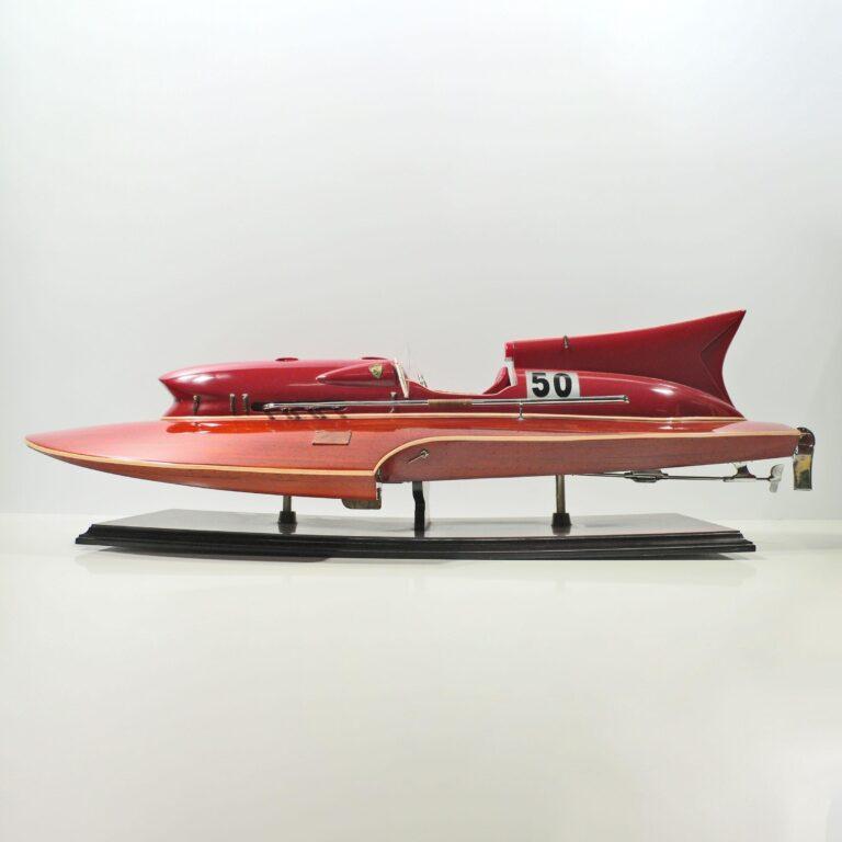 Ferrari Hydroplane Schiffsmodell
