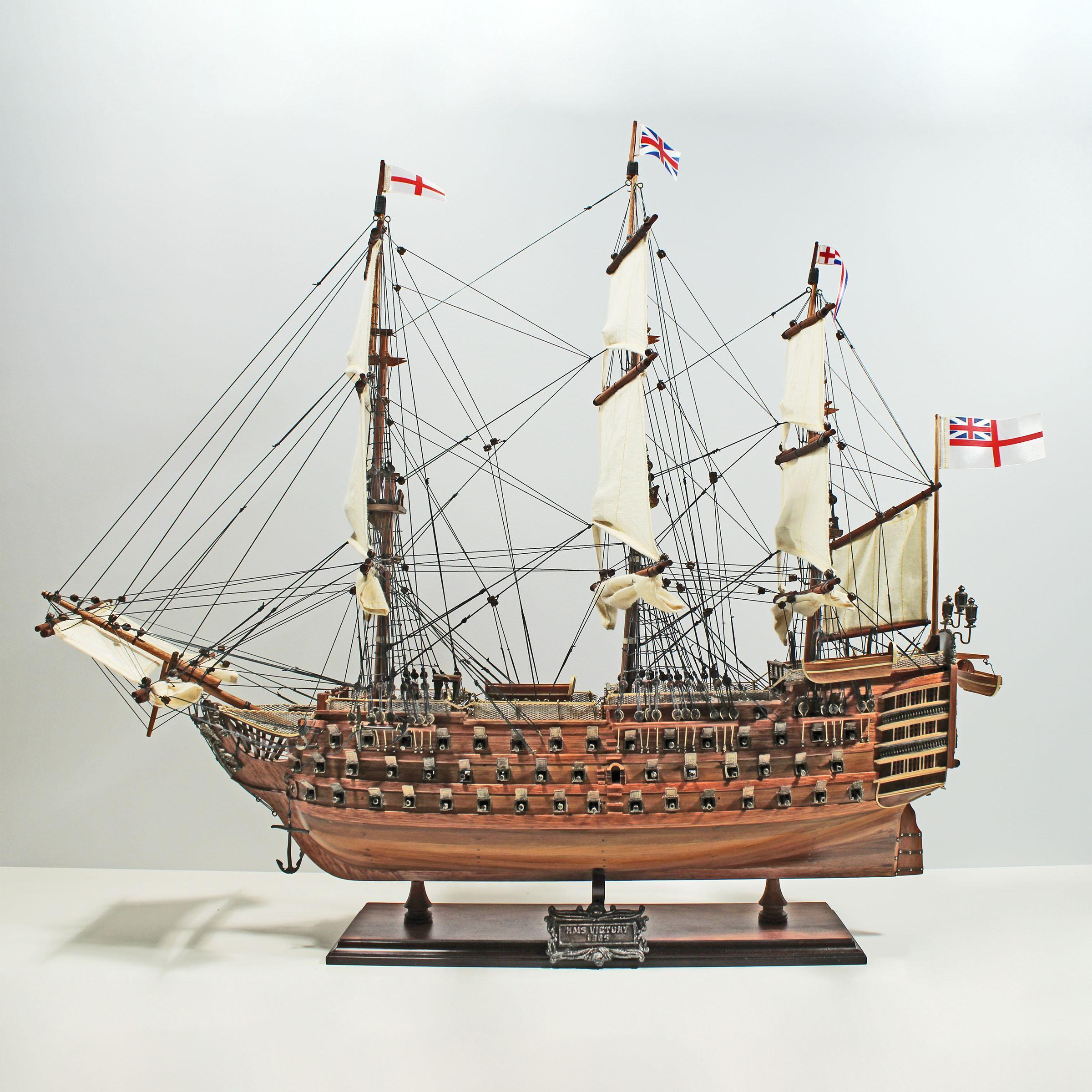 Häufig HMS Victory (L, XL) - Schiffsmodelle aus Holz : Nain Trading IC24