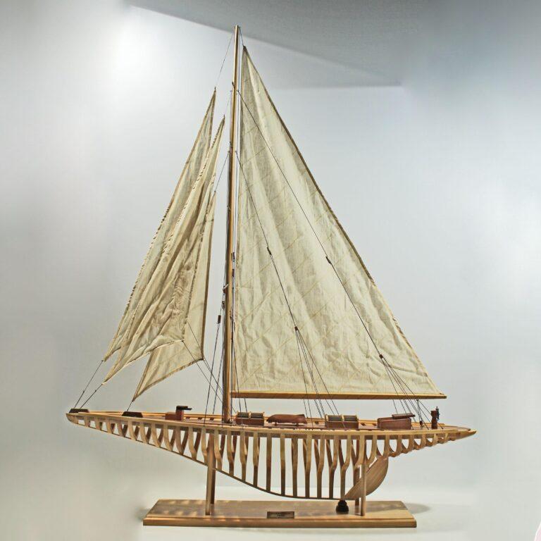 Shamrock 1930 Skellet Schiffsmodell