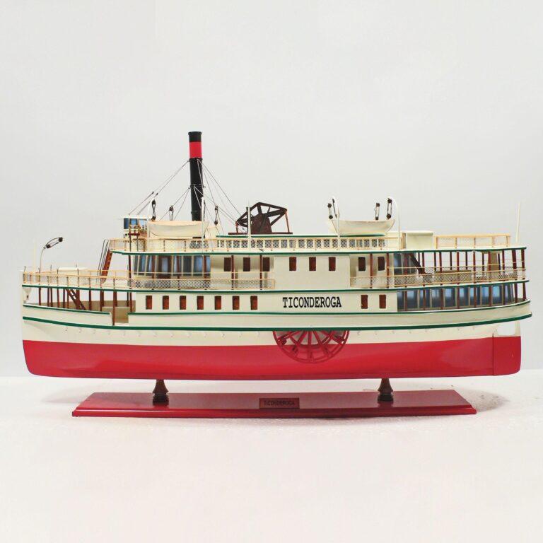 Ticonderoga Schiffsmodell