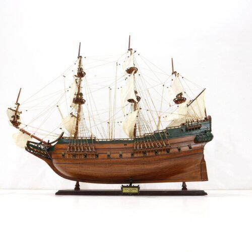 Handgefertigtes Schiffsmodell aus Holz der Batavia